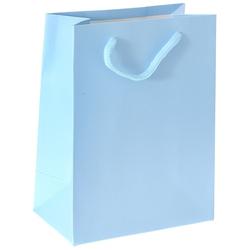 Χάρτινη Γαλάζια Σακούλα 14 x 8 x 18cm - 28964601