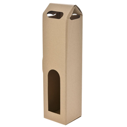 Χάρτινη Μπουκαλοθήκη Μονή 9 x 9 x 39cm - 28970558