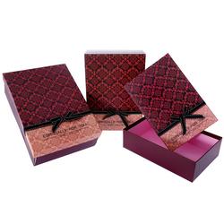 Χάρτινο Κόκκινο Κουτί Σετ 3Τεμ - 28964492