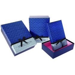 Χάρτινο Μπλε Κουτί Σετ 3Τεμ - 28964493