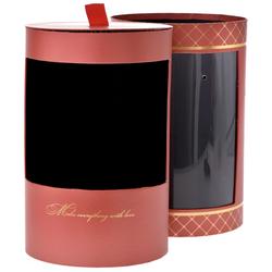 Χάρτινο Στρόγγυλο Κόκκινο Κουτί Με Παράθυρο 20 x 31cm - 28969537