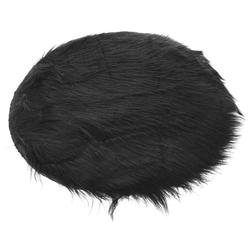 Σουπλά Συνθετικό Γούνινο Μαύρο 35cm - 28976074