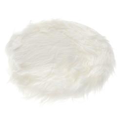 Σουπλά Συνθετικό Γούνινο Λευκό 35cm - 28976071