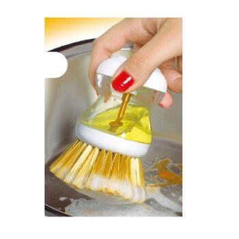 Βουρτσάκι Με Θήκη Για Υγρό Πιάτων