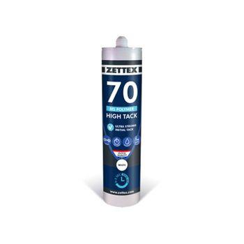 Κόλλα Σφραγιστικό MS 70 High Tack Φυσίγγιο 290ml Zettex