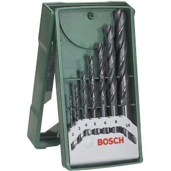 Σετ Κασετίνα Τρυπάνια Μετάλλου 7 Τεμαχίων Bosch