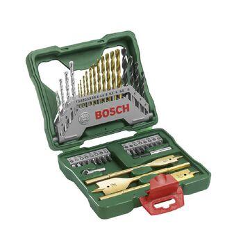 Σετ Κασετίνα Τρυπάνια Και Καρυδάκια Με Τριπάνια Τιτανίου 40 Τεμαχίων Bosch