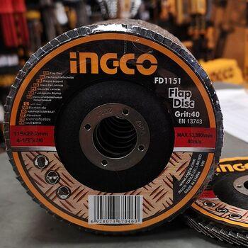 Δίσκος Λείανσης Fiber P40 115mm