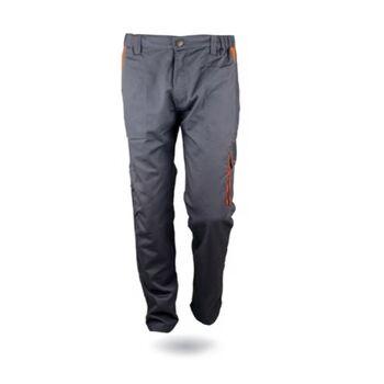 Παντελόνι Εργασίας Γκρί - Πορτοκαλί 270g/m2 GLX30