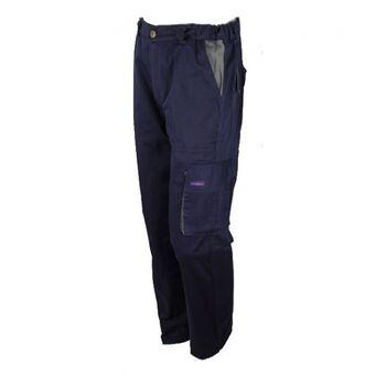 Παντελόνι Εργασίας Μπλέ - Ρουά 265g/m2 GLX30