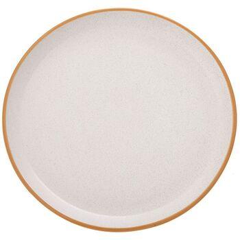 Πιάτο Φαγητού  Κεραμικό Κρέμ 27cm