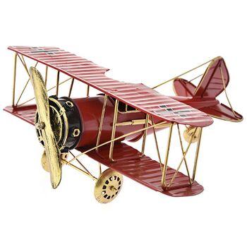 Μινιατούρα Αεροπλάνο Μεταλλικό 29x28x12cm