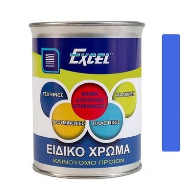 Ειδικό Χρώμα Για Δύσκολες Επιφάνειες Μπλέ 0,75Lit