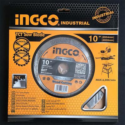Δίσκος Κοπής Ξύλου 254mm Επαγγελματικός Ingco