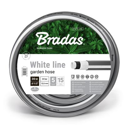 """Λάστιχο Ποτίσματος White Line 1/2"""" 30m Bradas - W12-30"""