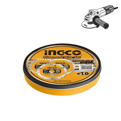 Διαμαντόδισκος Πλακιδίων Ξηράς Κοπής 115mm Ingco